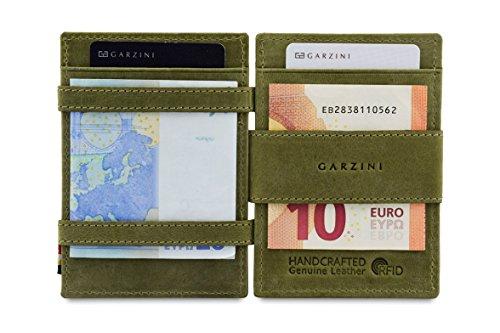 Garzini ,  Unisex Erwachsene Herren Herren-Geldbörse Grün