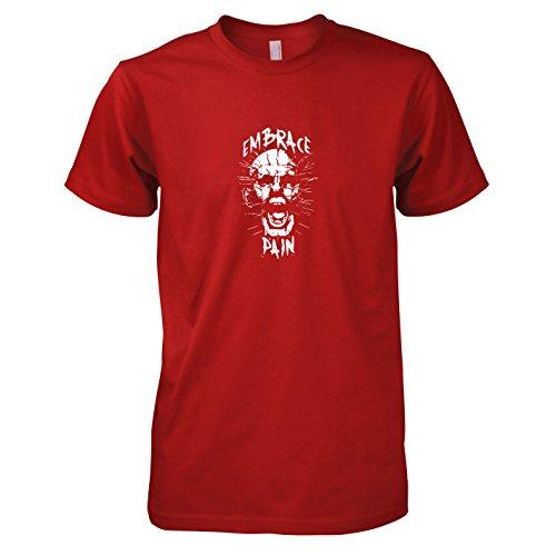 (TEXLAB - Pinhead - Herren T-Shirt, Größe S, rot)