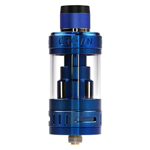 Riccardo Crown 3 Clearomizer 5 ml, Durchmesser 25 mm, Uwell Verdampfer für e-Zigarette, saphir-blau