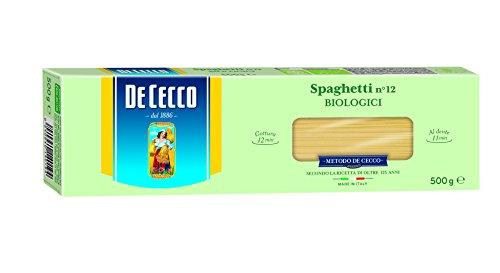 De Cecco Organic Durum Spaghetti Pasta 500 g (Pack of 5)