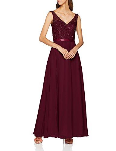 Laona Damen Partykleid, Rot (Velvet Rouge 7058), 36 (Herstellergröße: S)