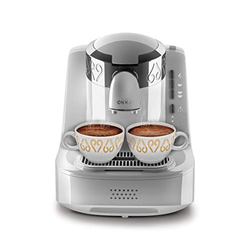 41qL4GgVeSL. SS500  - Arzum OK002W Automatic Turkish Coffee Machine, Plastic, 710 W, White
