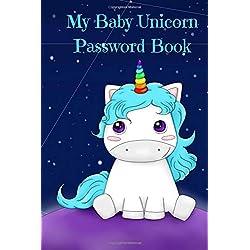 My Baby Unicorn Password Book