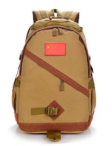 HWB/ 35 L Rucksack Camping & Wandern Draußen Multifunktions Braun / Tarnfarben Nylon Other Khaki