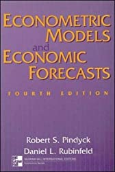 Econometric Models and Economic Forecasts (Text alone) by Robert S Pindyck (1997-05-01)