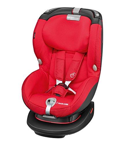 tokindersitz mit optimalem Seitenaufprallschutz und höhenverstellbarer Kopfstütze, Gruppe 1 (ab 9 Monate bis ca. 4 Jahre, 9-18 kg), rot (Auto Sitz 12 Monate)