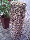 Gabionen Leipzig, Gabionen, rund, 100 cm x ca. 33 cm, MW 5x10, Säule, Garten