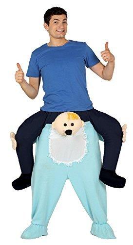 chsene Huckepack Schritt Big Baby Lustig Komödie Neuheit Junggesellenabschied Nacht Halloween Kostüm (Big Baby Halloween Kostüme Für Erwachsene)