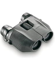 Bushnell 7-15x25mm PowerView - Prismático compacto, prisma porro con zoom, negro