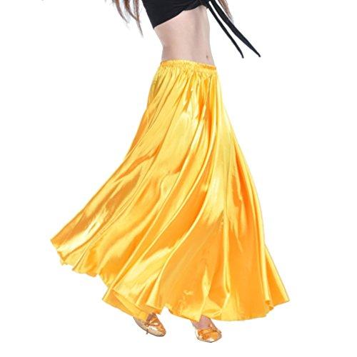 YouPue Damen Tanzkostüm Bauchtanz-Kostüm sexy High-End-Dual Rock Bauchtanz Leistungen große Rock Komfort (nicht enthalten Gürtel) Gürtel Kostüme Bauchtanz Taille Kette (Indische Kostüme Sexy)