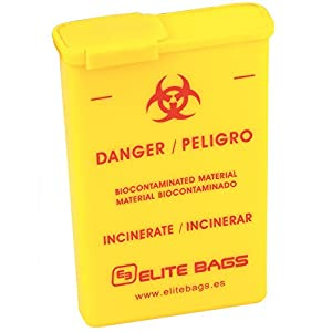 Elite Bags CONBIO´S Abwurfbehälter 8,5 x 12,5 x 3 cm