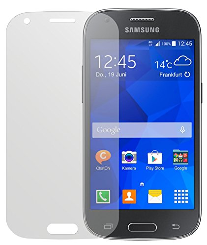 dipos I 2X Schutzfolie matt passend für Samsung Galaxy Ace 4 Folie Bildschirmschutzfolie