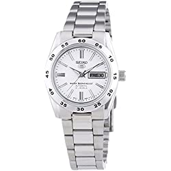Seiko Women's Automatic Watch Analogue Display and Stainless Steel Strap SYMG35K1