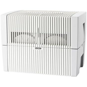 Venta Luftwäscher LW45 Luftbefeuchter + Luftreiniger für Räume bis 75m², weiß/grau