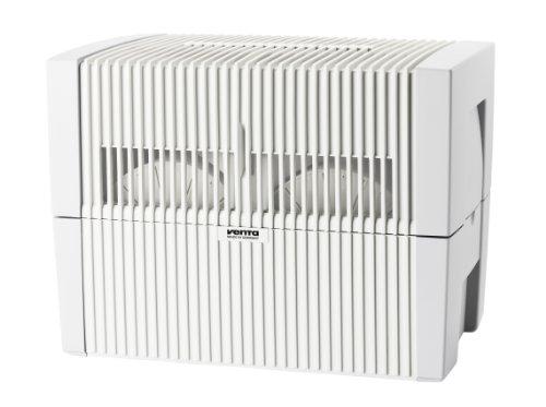 Venta Luftwäscher LW45 Luftbefeuchter und Luftreiniger für Räume bis 75 qm, weiß
