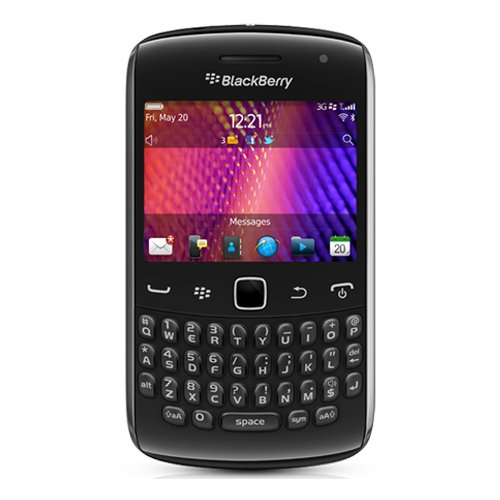 Blackberry Curve 9360 Unlocked Quad-Band 3G GSM Phone with 5MP Camera, QWERTY Keyboard, GPS and Wi-Fi - US Warranty - Black