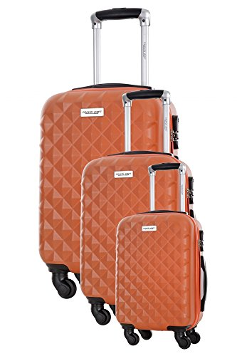 Ensemble de 3 Valises - EDISON ORANGE