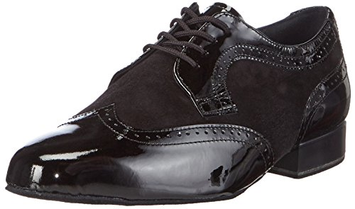 Diamant Diamant, Chaussures de Danse de salon homme Noir - Noir