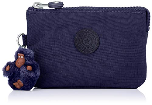 Kipling - Creativity S, Monederos Mujer, Azul (Active Blue)