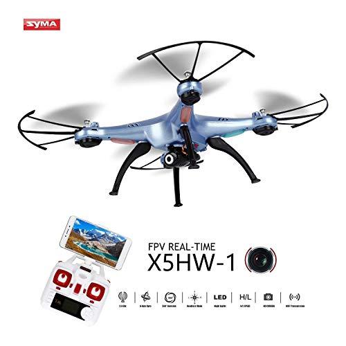 OCDAY Syma X5HW-1 Drone Cámara HD WiFi FPV Versión