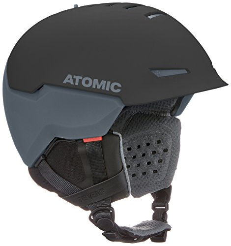 Atomic, Damen/Herren All Mountain Ski-Helm, AMID-Technologie, Revent + AMID, Live Fit, Größe XL, Kopfumfang 63-65 cm, Schwarz, AN5005440XL