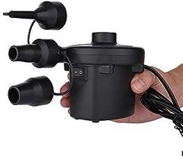 Unique Gadget AC Electric Air Pump Quickly Inflates and Deflates Sofa , Bed , Mattresses (Black) - Airpump
