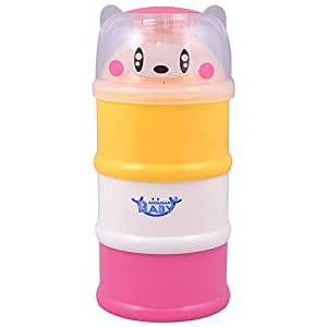 Mommas Baby India Milk Powder Container-Multi Color