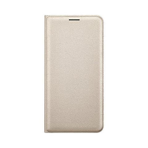 Samsung Flip Wallet Schutzhülle für Samsung Galaxy J5 (2016), gold