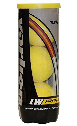Varlion LW Pro - Bote de pelotas de pádel, color amarillo