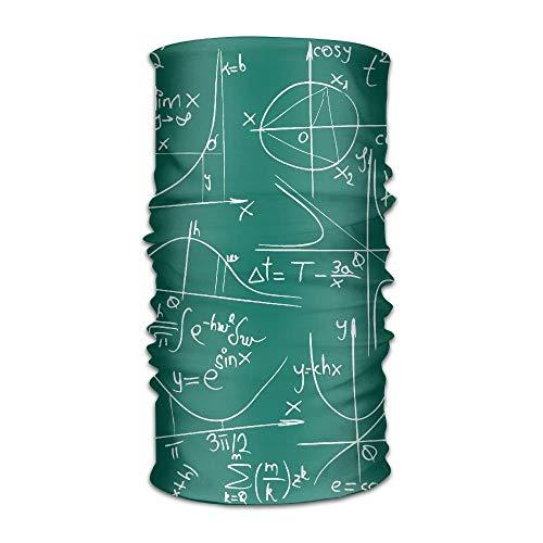 tilvolle Mathematik und Geometrie UV-Stirnband Quick Dry Ultra Soft Elastic Handscarf Mikrofaser Kopfbedeckungen Outdoor Bandana Magic Scarf Gesichtsmaske Unisex ()