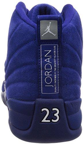 Nike 130690-400, espadrilles de basket-ball homme Bleu