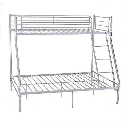 Panana Triple Sleeper Metall Etagenbett Single Double Triple 3 Person Für  Kinder Kinder Silber