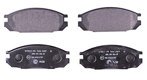 HELLA PAGID 8DB 355 006-251 Kit pastiglie freno, Freno a disco, Assale posteriore o Assale anterio