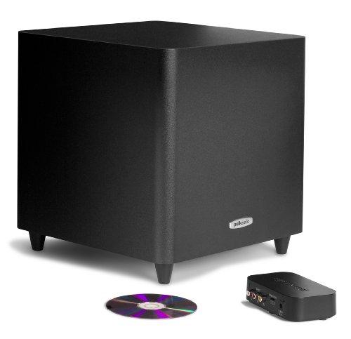 Polk Audio PSW i225 Caisson de basses sans fil Noir (Import Allemagne)