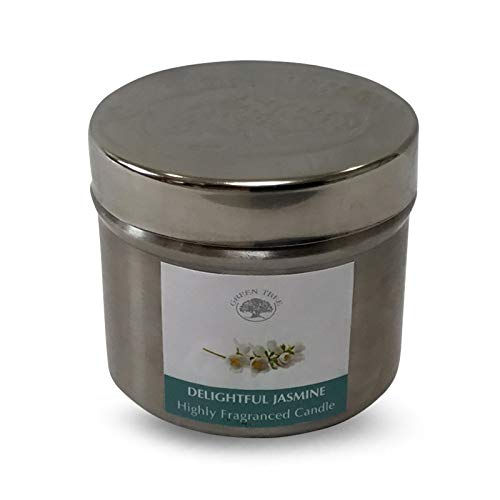 GREEN TREE CANDLE 0805460312454 Magnifique Jasmin Bougie