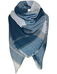 foulards , Tefamore Mode Lady Femmes Longue enveloppe souple Lady Châle  Écharpe Écharpe Collier écharpe 14f6d0025f0
