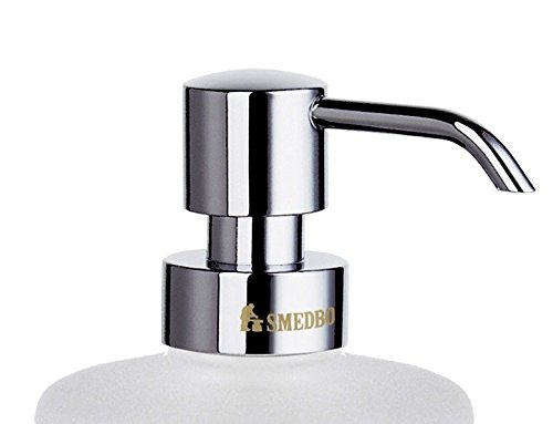 Smedbo house pump for soap dispenser chrome FK3691 for Loft, Villa soap dispenser