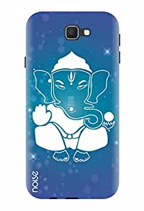Noise Designer Printed Case / Cover for Samsung Galaxy J5 Prime / Festivals & Occasions / White Ganesha Design