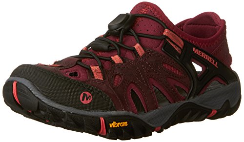 Merrell All Out Blaze Sieve, Chaussures de Randonnée Basses Femme, Violet (Vineyard Wine), 41 EU