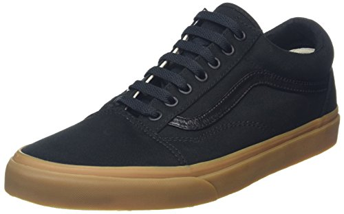 vans-unisex-adults-old-skool-low-top-sneakers-black-canvas-gum-9-uk
