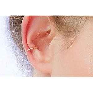 Ohr Manschette Gold Ohr klemme Ohrspange Ohrring Faux Ohr Manschette gefälschte Knorpel