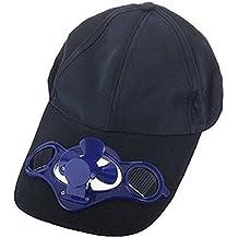 Romote accionado Solar del Ventilador refrigerado por Aire del Sombrero de  béisbol w Panel Solar 2baec05d23d