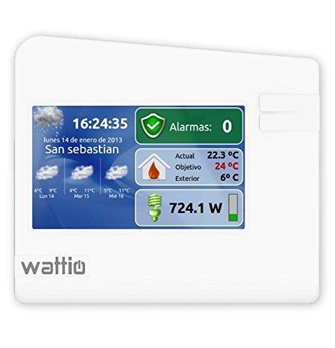 Wattio Gate - Centralita domótica con pantalla táctil