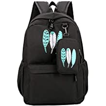Isuper School Backpack Mochila Escolar,Mochilas de Estudiantes Mochila Informal,Mochila Grande Mochila portátil