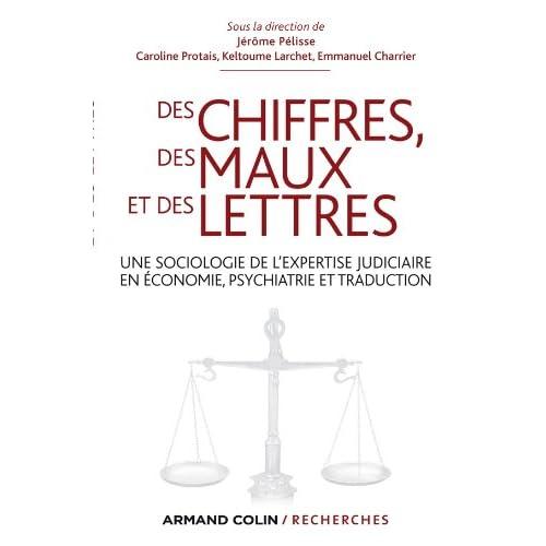 Des chiffres des maux et des lettres: Une sociologie de l'expertise judiciaire en économie, psychiatrie et traduction