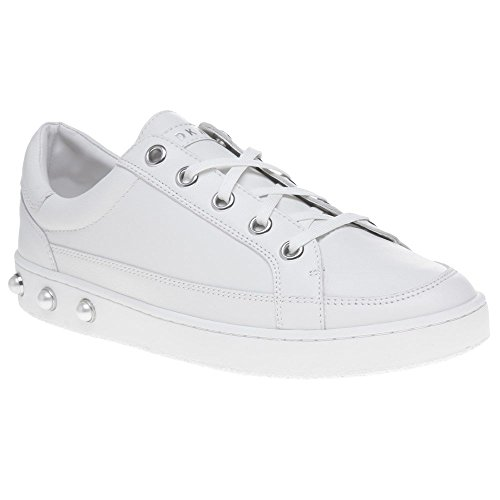 Dkny Bali Lace Up Femme Blanc Blanc Sneaker