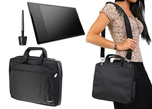 Navitech Étui de tablette graphique noir / sac pour le Huion INSPIROY Q11K