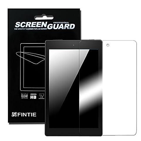 3 x Fintie Schutzfolie für Fire HD 8 - High Definition Klar Displayschutzfolie Screen Protector (3 Stück Kristallklar) für Amazon Fire HD 8 Zoll Tablet (5. Generation / Das neue 6. Generation