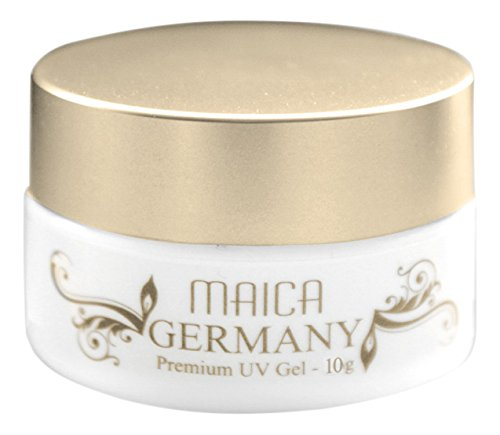 maica Allemagne Gel UV Natural White, 1er Pack (1 x 10 g)