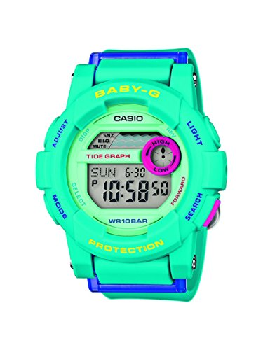 Casio Damen-Armbanduhr Baby-G Digital Quarz Resin BGD-180FB-2ER
